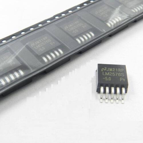 10pcs LM2576S-5.0 IC REG BUCK 5V 3A TO263-5 New