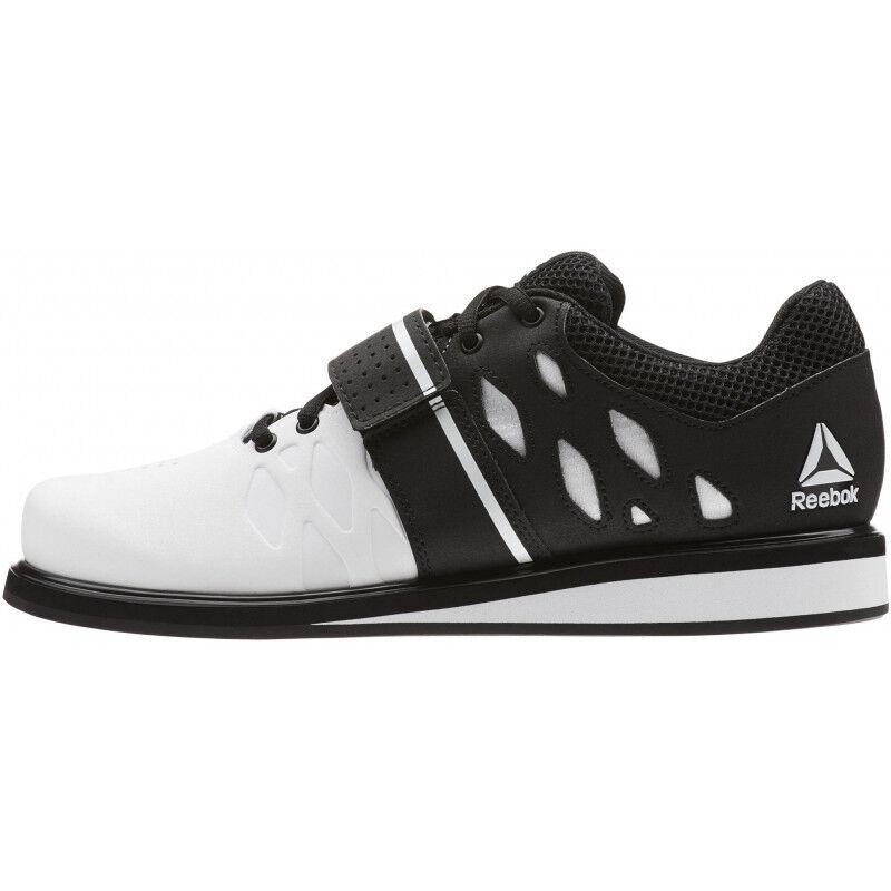Para Hombre Reebok Para Hombre Zapatos de Halterofilia levantador pr-blancoo 1