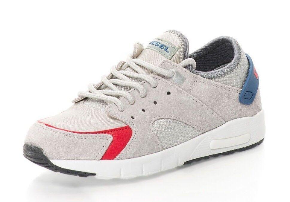 Women's DIESEL LOW 7 RUN YO Trainers Grey color Size UK 4   EU 37 - BNWOB