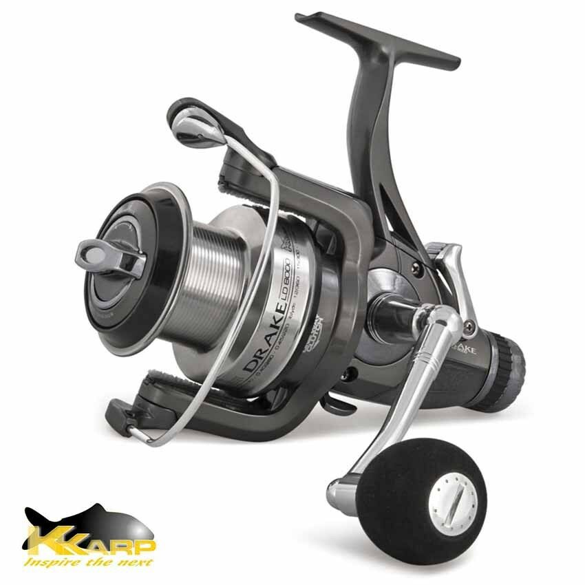 03775100 carrete K-Karp Drake LD 10000 Pesca Carpfishing carpa Runner