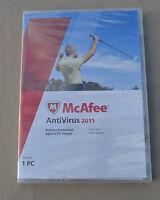 Mcafee Antivirus 2011, 1-user (pc)