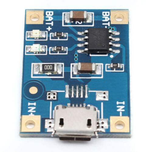 10pcs TP4056 Micro USB Charger Module 5V 1A 18650 Lithium Battery Charging Board