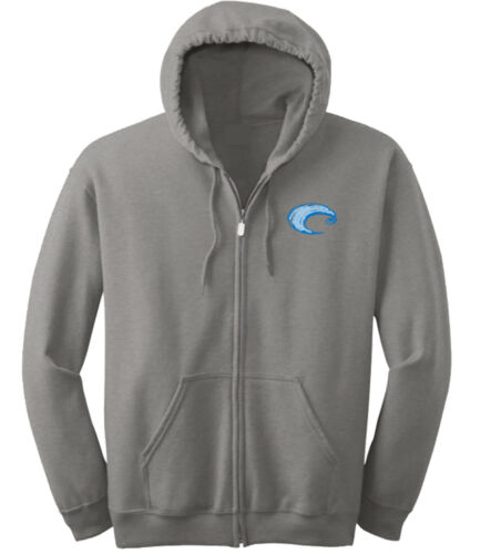 Costa Cannery Zip Up Hoodie