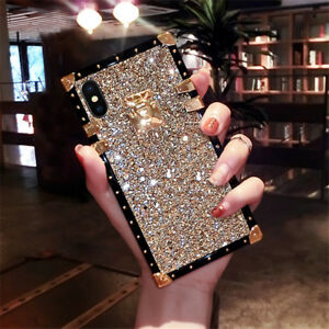 9a74364fcbc Image is loading Fashion-Bling-Glitter-Protective-Case-Soft-Luxury-Cover-