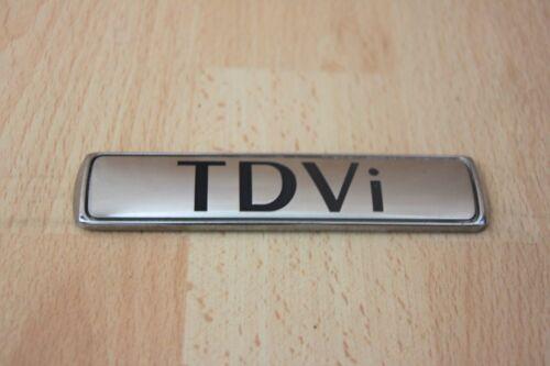 """/""""Tdvi/"""" Badge Coffre//Coffre Couvercle Plaque-Jaguar XJ X350 2.7 Diesel 2005-2010"""