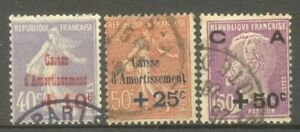 FRANCE-STAMP-TIMBRE-N-249-51-034-CAISSE-D-039-AMORTISSEMENT-2eme-SERIE-034-OBLITERES-TB