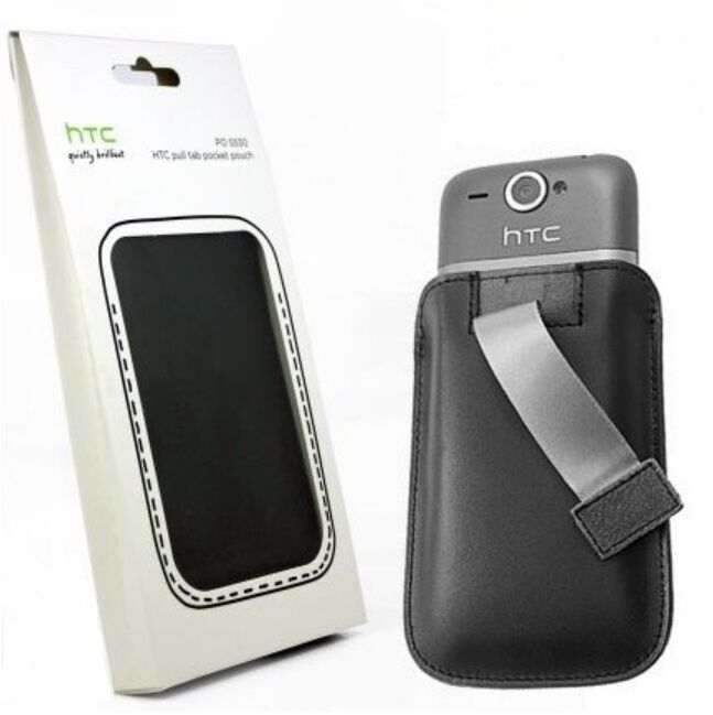 Authentique HTC Wildfire,Wildfire S Languette Housse de Transport Pochette Po