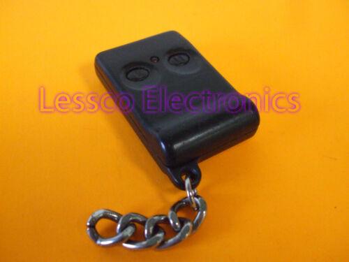 +PROGRAMMING  DE EZSDEI490 2 Button RPN491 Binary Remote Transmitter Fob