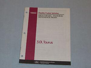 FORD-OEM-SERVICE-MANUAL-1993-TAURUS-NEW-MODEL-TRAINING-3-0L-FLEX-FUEL-VEHICLES