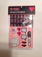 Victorias Secret Novelty Personalize Anything Kit Valentine Decorations 1