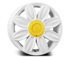 """TANSY Daisy Alloy Wheels with TYRES White For VW Beetle 1998-2012 16"""""""