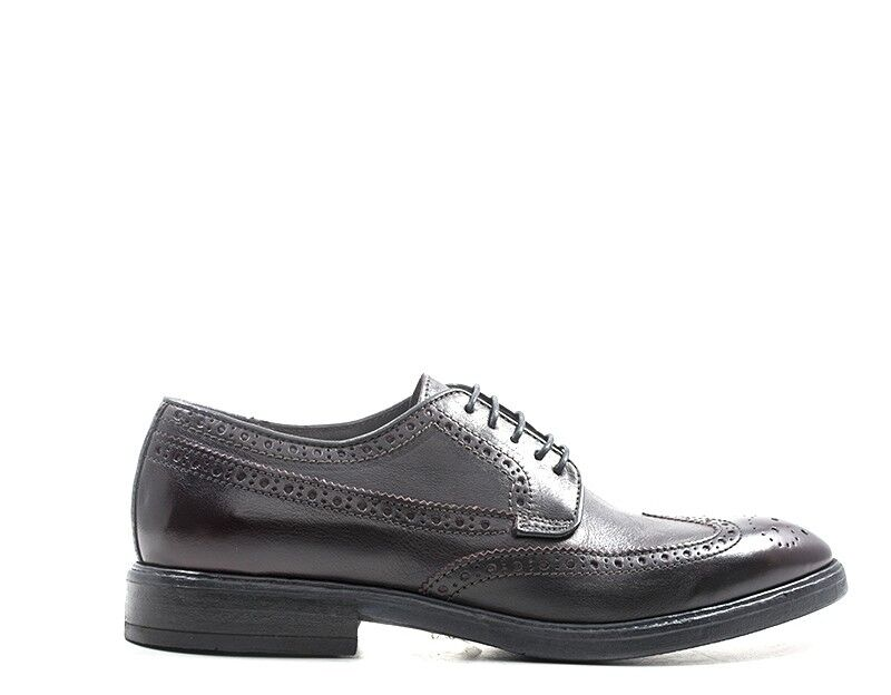 Schuhe ROCK NEVER DIES Mann BORDEAUX Brogue,Naturleder 112035-VI    | Schönes Aussehen