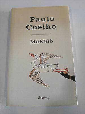 Treu Paulo Coelho Maktub Buch Deckel Hart Planeta ZuverläSsige Leistung Bücher