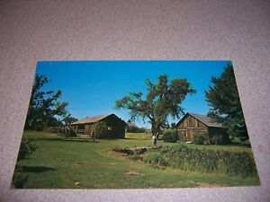 Details about 1960s SAWYERS CABIN and UP & DOWN SAWMILL SHELBURNE VERMONT  VTG POSTCARD