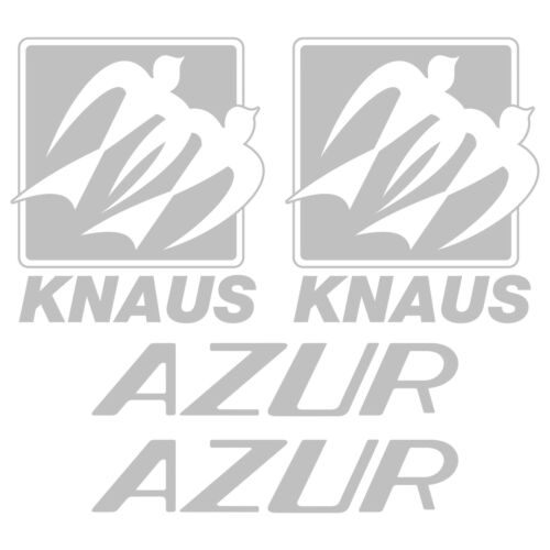 2 x Knaus AZUR pegatina calcomanías adesivo autocolante sticker autocaravana