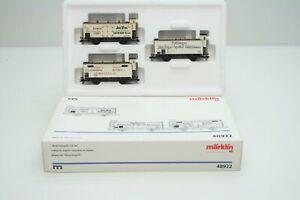 Maerklin-48922-Wagen-Set-Fleischtransport-in-H0-in-Originalverpackung