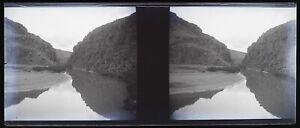 Algeria Paesaggio Foto Negativo Stereo V12L23n5 Placca Da Lente Vintage c1920