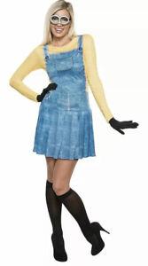 Women-039-s-Minions-Female-Costume-Large-10-14-Rubie-039-s-Costume-Co