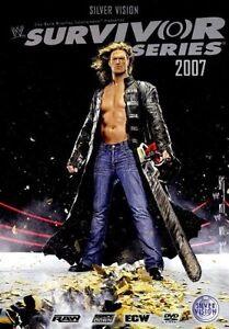 WWE-Survivor-Series-2007-Steelbook-DVD-orig-WWF-Wrestling