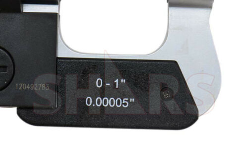 "SHARS 0-1/"" Universal Anvil Electronic Micrometer"