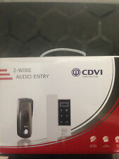 CDVI 2 FILI Slim Line Audio Intercom Kit for electric GATE Automation