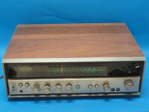 Image Is Loading VINTAGE SONY STR 6036A AM FM STEREO RECEIVER