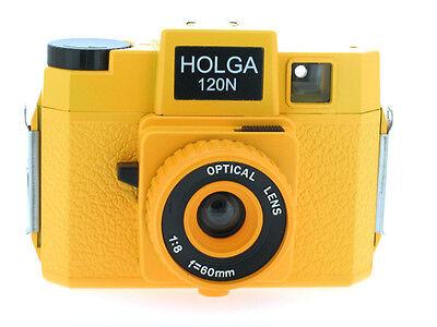 Holga 120N Medium Format Film Camera YELLOW 6 x 6 cm