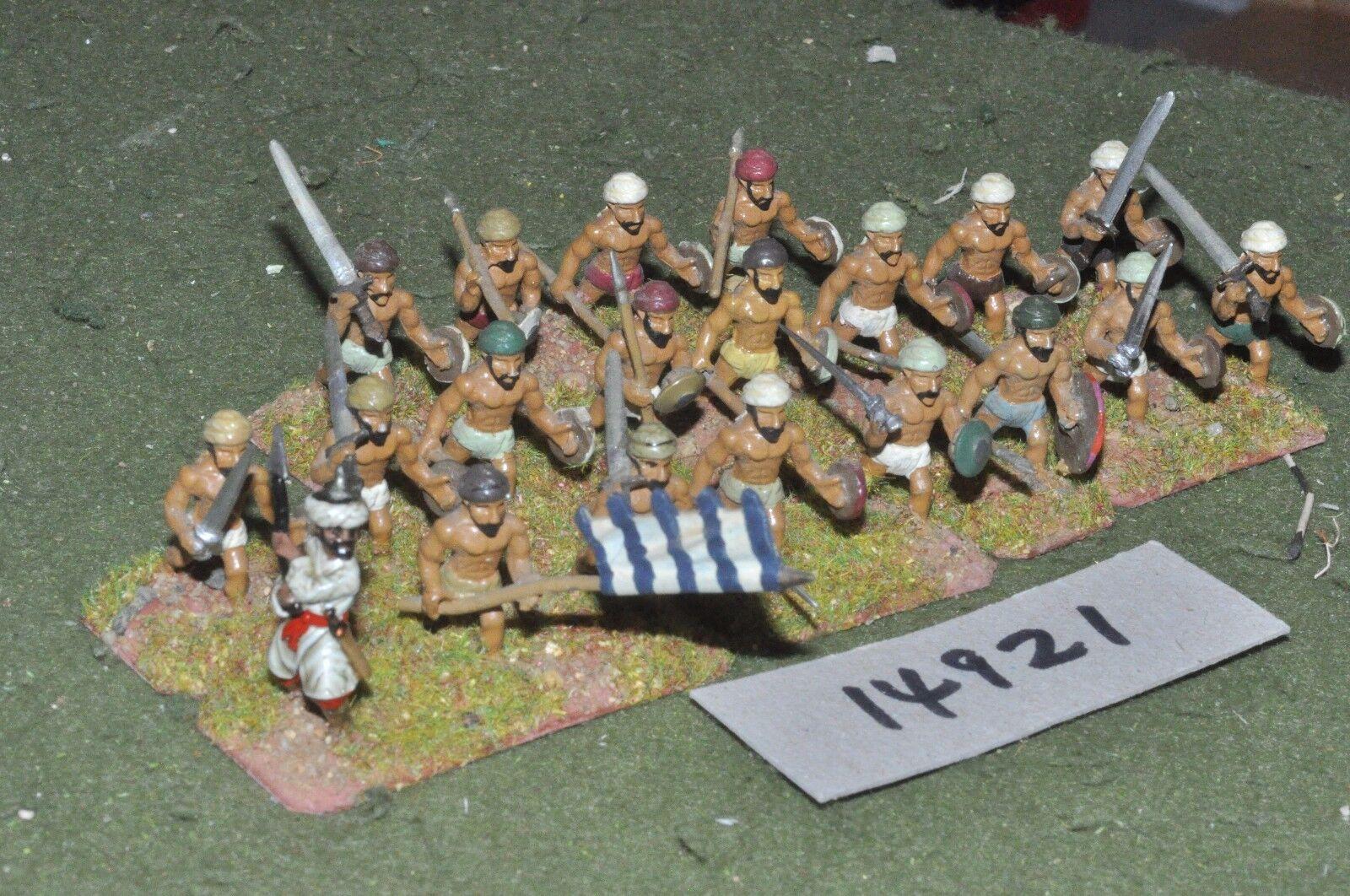 25mm medieval   turkish - seljuk infantry 20 figs - inf (14921)