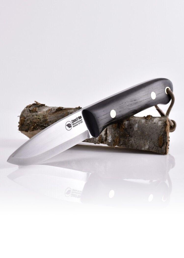 Casström Feststehendes Messer Messer Messer Woodsman Mooreiche 20,5cm Vollerl-Jagdmesser 3133cc