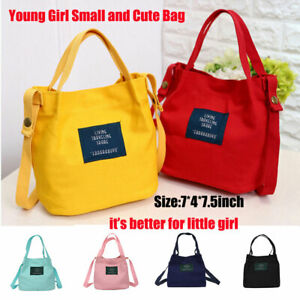 Women-Young-Girl-Small-Canvas-Handbag-Shoulder-Messenger-Bag-Satchel-Tote-Purse