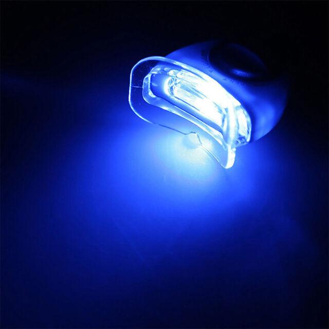 New Blue LED Teeth Whitening Accelerator UV Light Dental Laser Lamp Light Tool