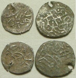 Lot 2 original Islamic silver Rare akce pendant coins Ottoman Empire 15 Century