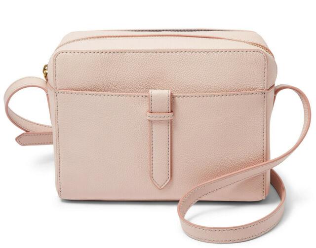 Leather Aspen Traveler Crossbody Bag