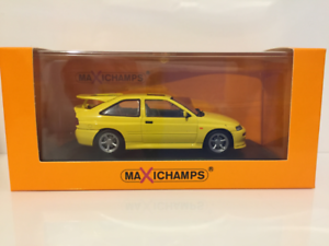 Maxichamps 940082101 Ford Escort RS Cosworth 1992 Yellow 1 43 Scale