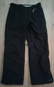 OAKLEY-HYDRO-FUEL-4-INSULATED-MULTI-ZIPPERED-SNOWBOARD-PANTS-BLACK-SIZE-M