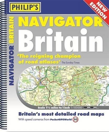 1 of 1 - Philip's Navigator Britain - Excellent Book