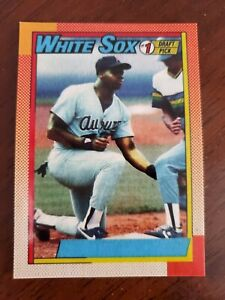 1990-414-Frank-Thomas-Baseball-Rookie-Card-RP-No-Name-on-Front-NNOF