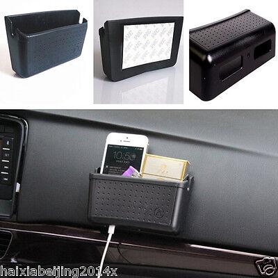 Auto Car Multifunction Storage Large Box Phone Charging Hole Pocket Bag Holder