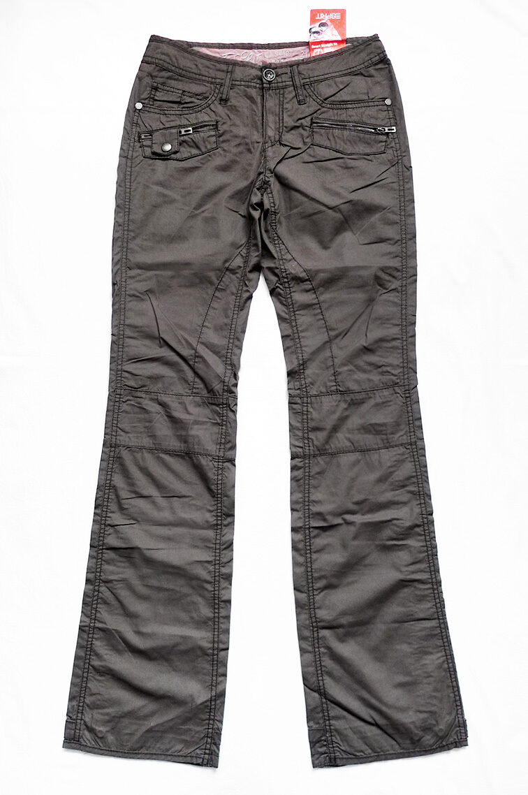 NEW WITH TAG ESPRIT Charcoal Multi-Pocket Pants Größe 2 (28  x 33 )