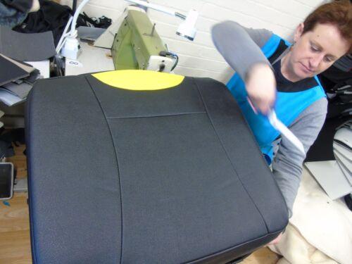 YS01 Recaro Sport Autositzbezüge schwarz passend für NISSAN e-NV200 Kombi I