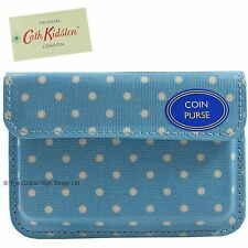 Cath Kidston Coin Purse Mini Dot (turquoise) *100% authentic*  **BNWT**
