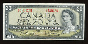 1954-Bank-of-Canada-20-Banknote-Face-Value-Sale