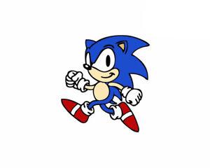 Sonic The Hedgehog Sticker Vinyl Decal 2 555 Ebay