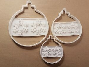 Bauble-Snowflake-Xmas-Decoration-Shape-Cookie-Cutter-Dough-Biscuit-Fondant-Stamp