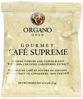 Organo Gold Cafe Supreme 100% Certified Ganoderma Extract Sealed, New, Free Ship