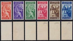 """Vaticano 1935 """"Congresso Giuridico"""" 41-46 nuova MNH** g. integra ben centrata"""