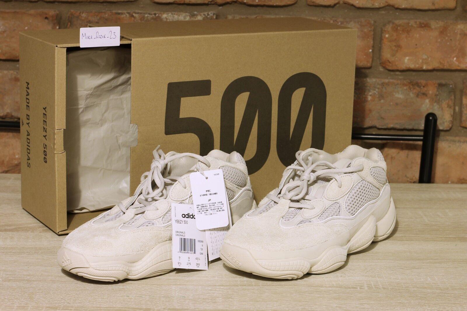 ** Új ** Adidas Yeezy 500 Blush UK9 - Soha nem kopott!