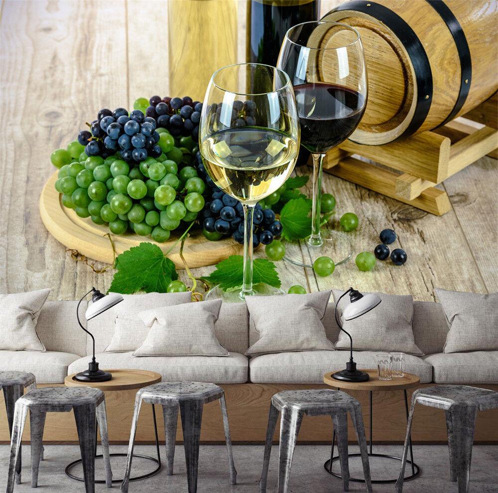 3D Wein Trauben 565 Tapete Tapeten Mauer Foto Familie Tapete Wandgemälde Summer
