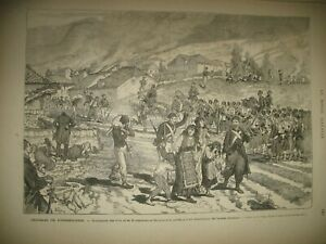 HERZEGOVINE-SOUMISSION-ARMeE-TURQUE-MOSTAR-HONGRIE-ELECTIONS-GRAVURES-1875