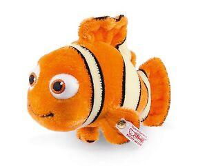 Steiff® 354885 Nemo 15 Cm, Mohair Orange / Blanc Nouvelle rareté non utilisée